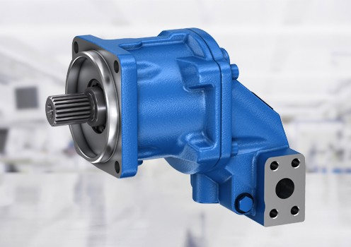Axialkolvmotorer med fast och variabelt deplacement från Bosch Rexroth