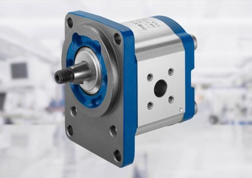Ytterkugghjulsmotor är utvecklad för höga tryck i kombination med liten storlek och låg vikt