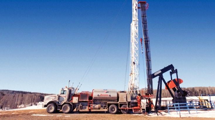 Borranläggningar för olja och gas