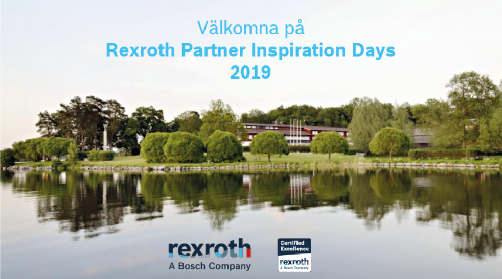 Rexroth Partner Inspiration Days 2019